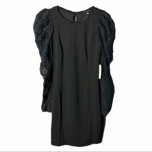 Discovery Elegant Lace Sleeve Dress, size S